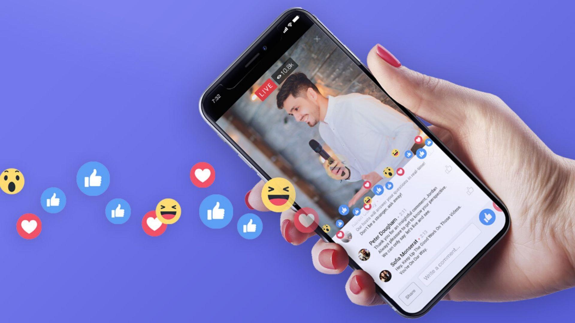 Facebook-ზე ფასიანი Live ვიდეოების გაშვება იქნება შესაძლებელი