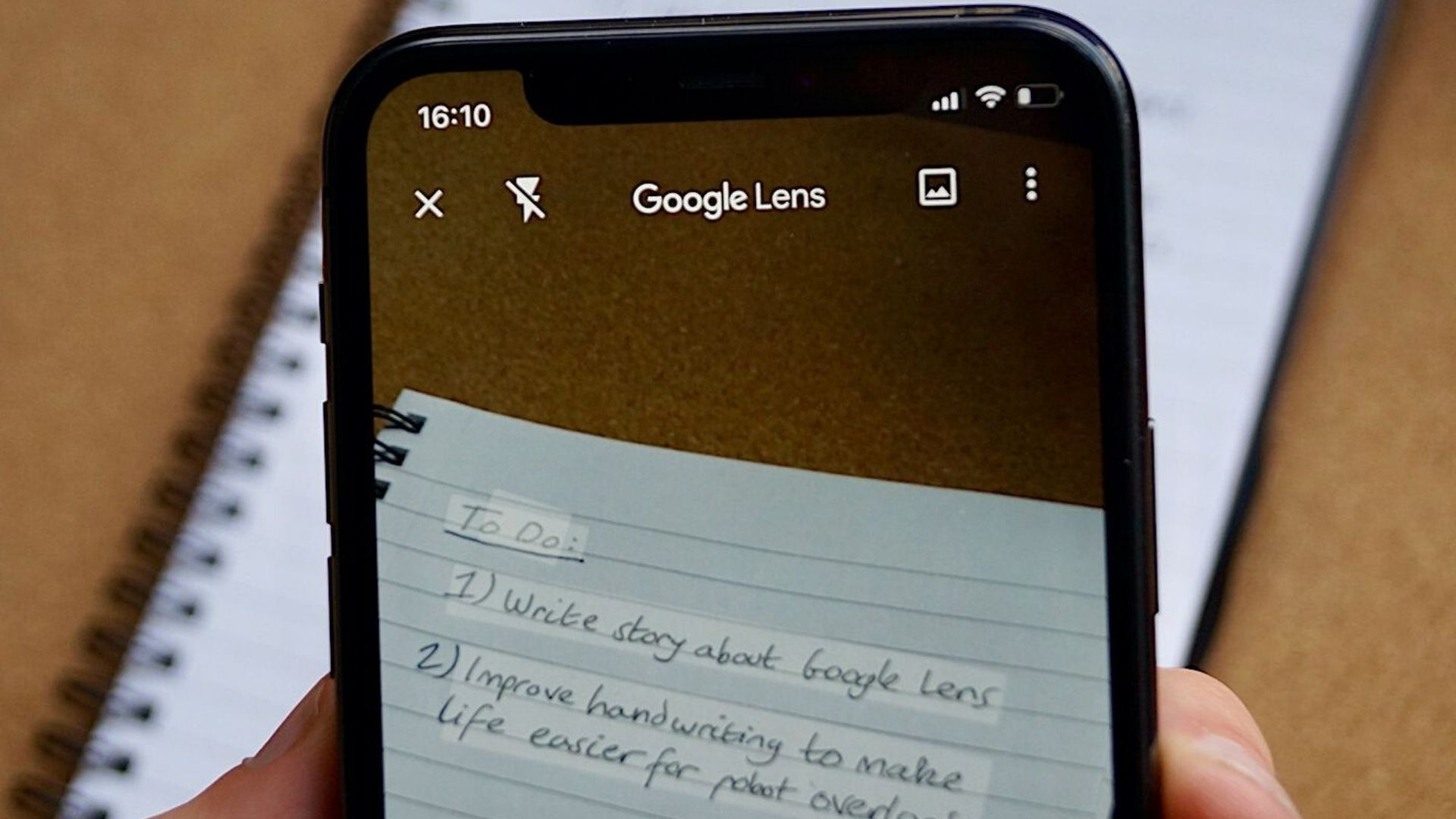 Google-ის ახალი ფუნქცია, რომელიც ხელნაწერს ბეჭდურ ვერსიად აქცევს